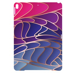 Modern Colorful Abstract Art Apple Ipad Pro 10 5   Black Uv Print Case