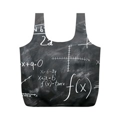 Mathematics Full Print Recycle Bag (m)