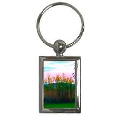 Field Of Goldenrod Key Chains (rectangle)  by okhismakingart