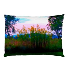 Field Of Goldenrod Pillow Case by okhismakingart