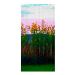 Field Of Goldenrod Shower Curtain 36  X 72  (stall)  by okhismakingart