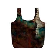 Abstract: Hallway Full Print Recycle Bag (s) by okhismakingart