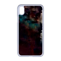 Abstract: Hallway Iphone Xr Seamless Case (white) by okhismakingart