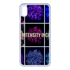 Floral Intensity Increases  Iphone Xs Max Seamless Case (white) by okhismakingart