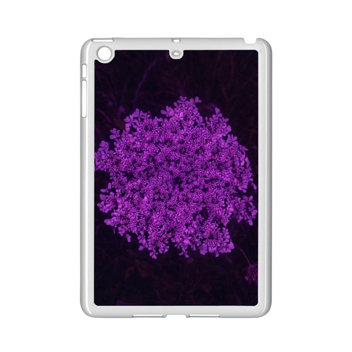 Queen Annes Lace in Purple iPad Mini 2 Enamel Coated Cases
