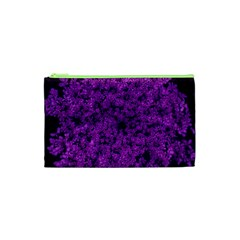 Queen Annes Lace In Purple Cosmetic Bag (xs)