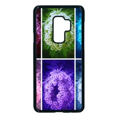 Closing Queen Annes Lace Collage (horizontal) Samsung Galaxy S9 Plus Seamless Case(black)