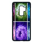 Closing Queen Annes Lace Collage (Horizontal) Samsung Galaxy S9 Plus Seamless Case(Black) Front