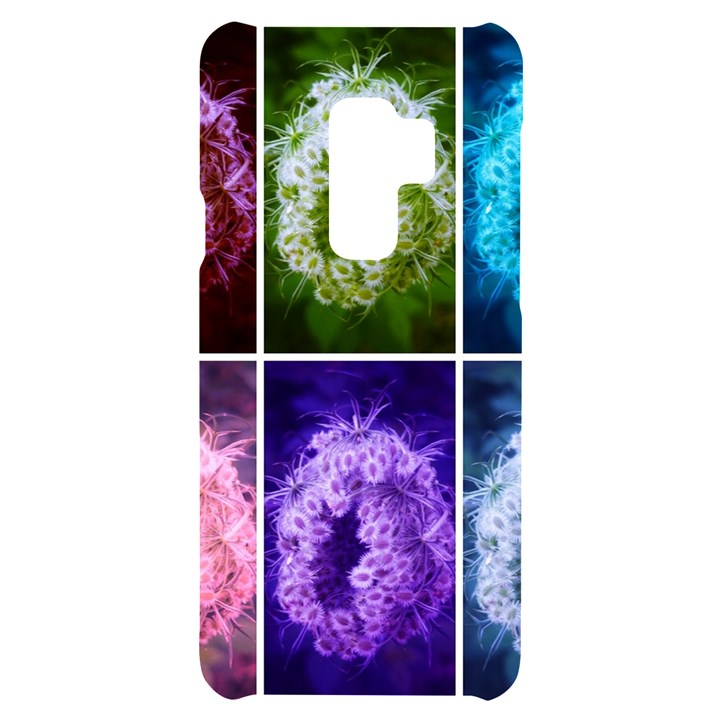 Closing Queen Annes Lace Collage (Horizontal) Samsung S9 Plus Black UV Print Case