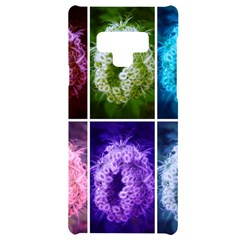 Closing Queen Annes Lace Collage (horizontal) Samsung Note 9 Black Uv Print Case