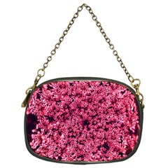 Queen Annes Lace In Red Part Ii Chain Purse (two Sides)