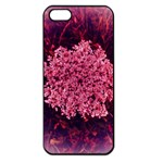 Queen Annes Lace in Red Part II iPhone 5 Seamless Case (Black) Front