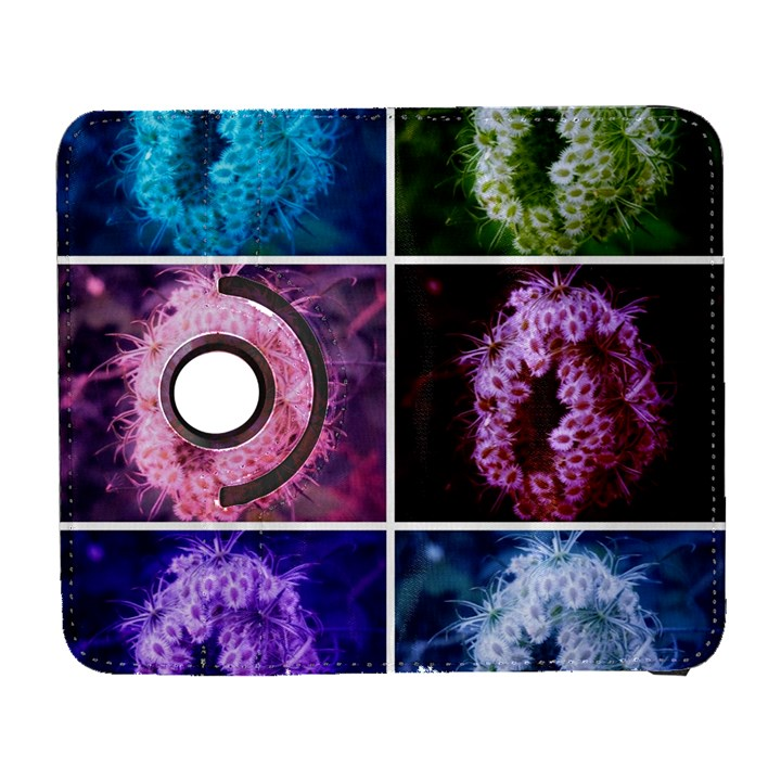 Closing Queen Annes Lace Collage (Vertical) Samsung Galaxy S  III Flip 360 Case