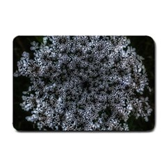 Queen Annes Lace In White Small Doormat
