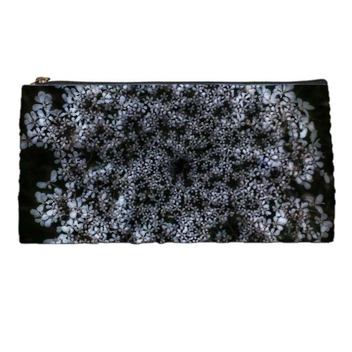 Queen Annes Lace in White Pencil Cases