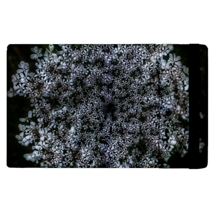 Queen Annes Lace in White Apple iPad 2 Flip Case