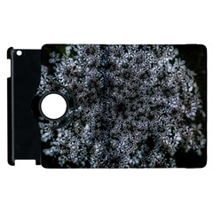 Queen Annes Lace In White Apple Ipad 2 Flip 360 Case