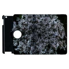 Queen Annes Lace In White Apple Ipad 3/4 Flip 360 Case by okhismakingart