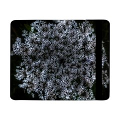 Queen Annes Lace In White Samsung Galaxy Tab Pro 8 4  Flip Case by okhismakingart