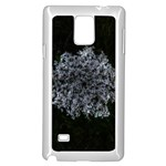Queen Annes Lace in White Samsung Galaxy Note 4 Case (White) Front