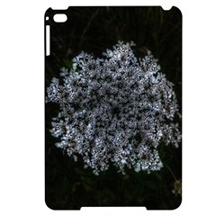 Queen Annes Lace In White Apple Ipad Mini 4 Black Uv Print Case by okhismakingart