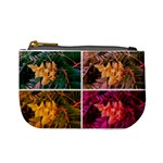 Sideways Sumac Collage Mini Coin Purse Front