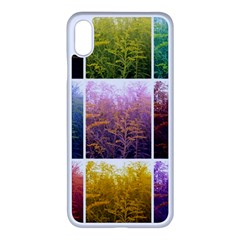 Goldenrod Collage Iphone Xs Max Seamless Case (white) by okhismakingart