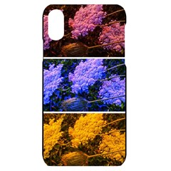 Primary Color Queen Anne s Lace Iphone Xr Black Uv Print Case
