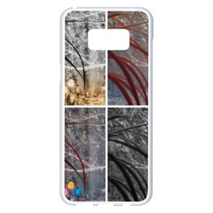 Winter Tulips Samsung Galaxy S8 Plus White Seamless Case by okhismakingart