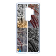 Winter Tulips Samsung Galaxy S9 Plus Seamless Case(white)