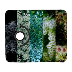 Queen Annes Lace Vertical Slice Collage Samsung Galaxy S  Iii Flip 360 Case by okhismakingart