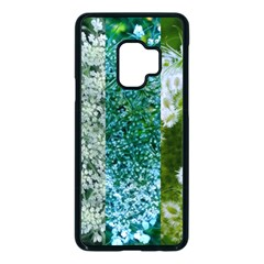 Queen Annes Lace Vertical Slice Collage Samsung Galaxy S9 Seamless Case(black)