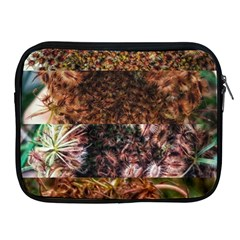 Queen Annes Lace Horizontal Slice Collage Apple Ipad 2/3/4 Zipper Cases by okhismakingart