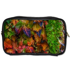 Fall Ivy Toiletries Bag (one Side) by okhismakingart