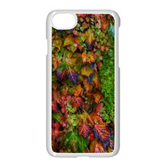 Fall Ivy Iphone 8 Seamless Case (white) by okhismakingart