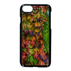 Fall Ivy Iphone 8 Seamless Case (black) by okhismakingart