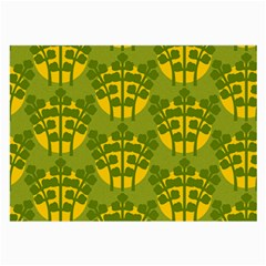 Texture Plant Herbs Green Large Glasses Cloth (2 Side) by Mariart