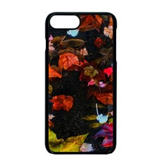 Leaves And Puddle Iphone 7 Plus Seamless Case (black) by okhismakingart