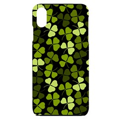 Green Leaves Meadow Shamrock Pattern Iphone Xs Max