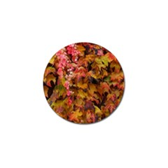 Red And Yellow Ivy Golf Ball Marker (10 Pack) by okhismakingart