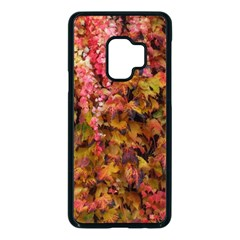 Red And Yellow Ivy Samsung Galaxy S9 Seamless Case(black) by okhismakingart