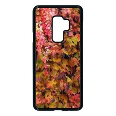 Red And Yellow Ivy Samsung Galaxy S9 Plus Seamless Case(black)