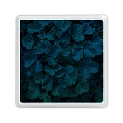 Columbine Leaves Memory Card Reader (square) by okhismakingart
