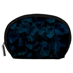 Columbine Leaves Accessory Pouch (large) by okhismakingart