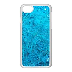 Turquoise Pine Iphone 8 Seamless Case (white) by okhismakingart