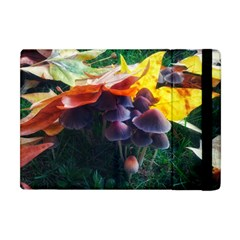 Mushrooms Apple Ipad Mini Flip Case by okhismakingart