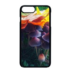 Mushrooms Iphone 8 Plus Seamless Case (black) by okhismakingart