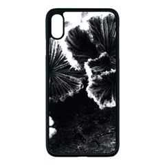 Tree Fungus High Contrast Iphone Xs Max Seamless Case (black)