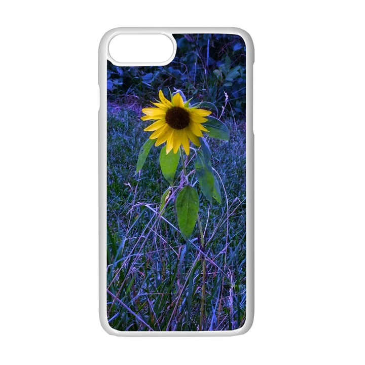 Blue Sunflower iPhone 7 Plus Seamless Case (White)