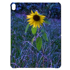 Blue Sunflower Apple Ipad Pro 12 9   Black Uv Print Case
